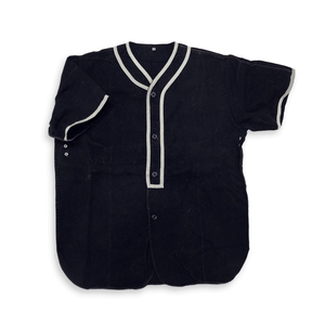 Navy Heritage Baseball Shirt