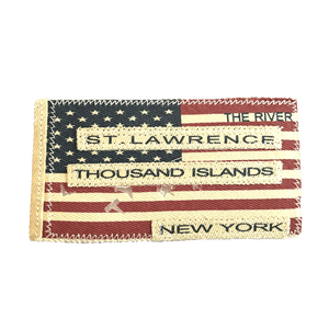 Distressed St. Lawrence River Flag Patch