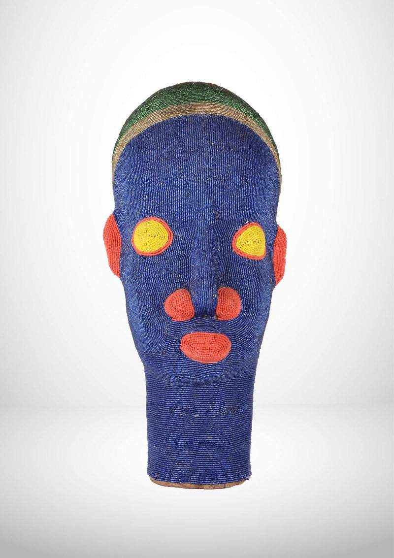Large African Head Totem - African Collection