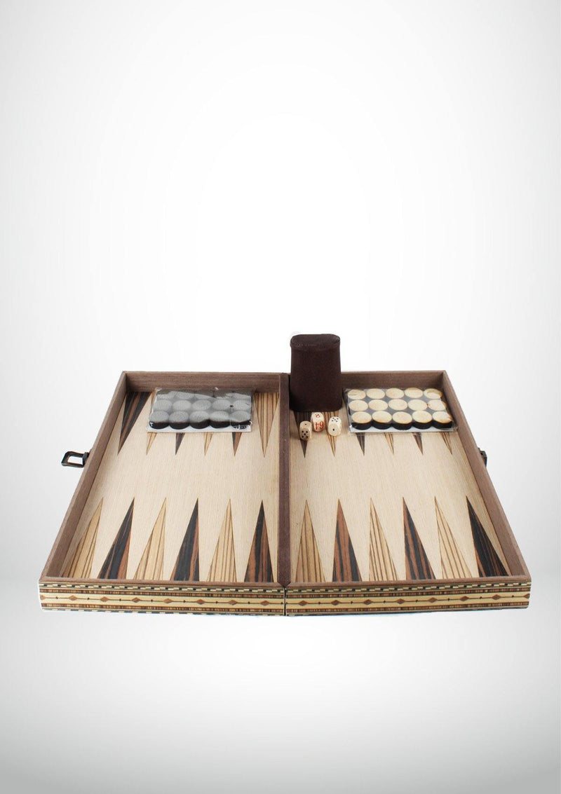 Backgammon - Wooden Board Game - African Collection