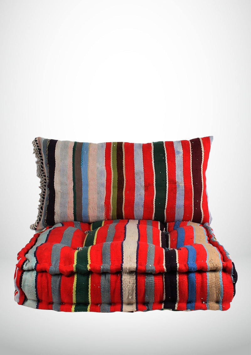 Colorful Handmade beanbag set - African Collection