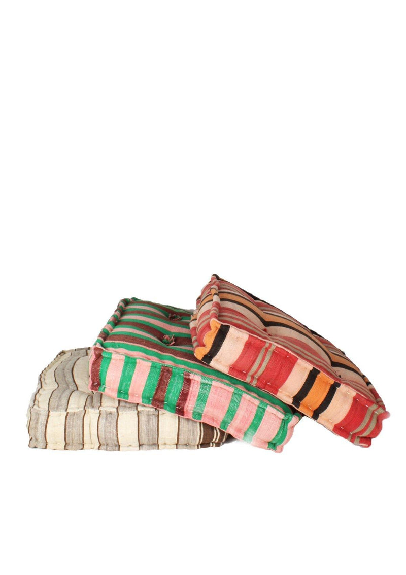 Colorfull Stripped Beanbag - African Collection