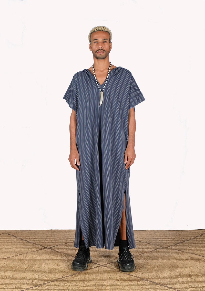 Striped Gandoura - African Collection