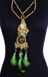 Handmade Dreamcatcher Necklace - African Collection