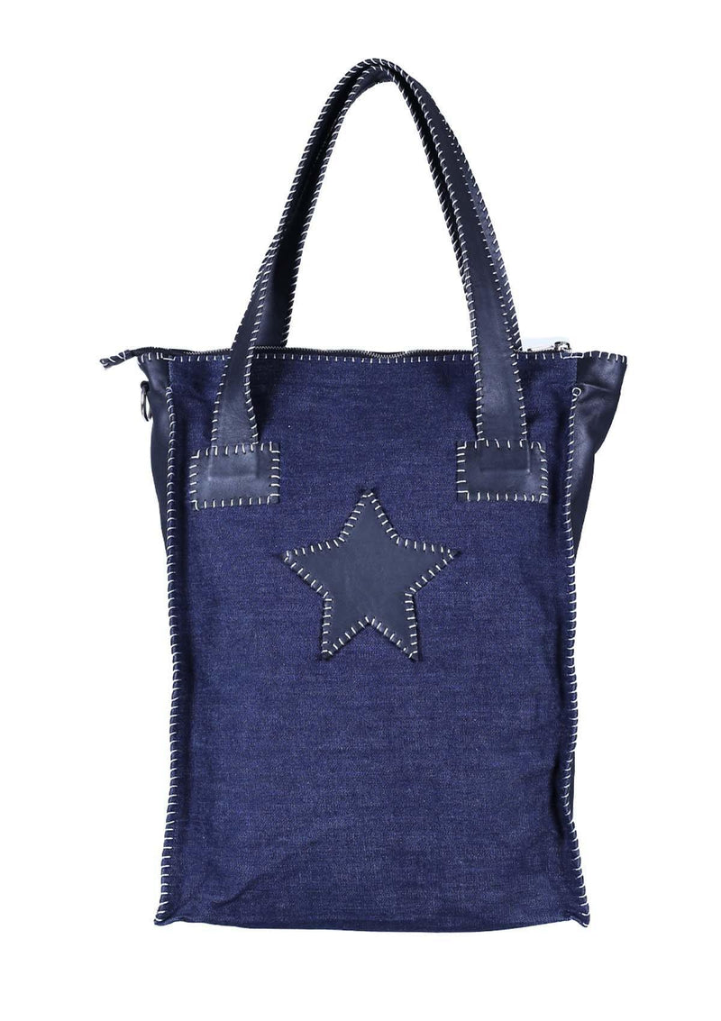 Long bag with a Star - African Collection