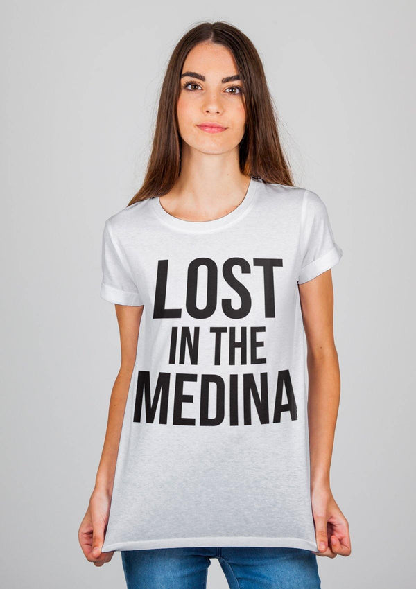 Lost in The Medina T-shirt - Women - African Collection