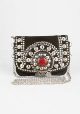 Mini Bag with a Pearl and Ornament Patern - Africancollection
