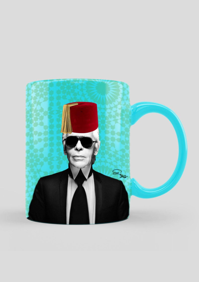 Moroccan Red Hat on Figures Mug - Africancollection