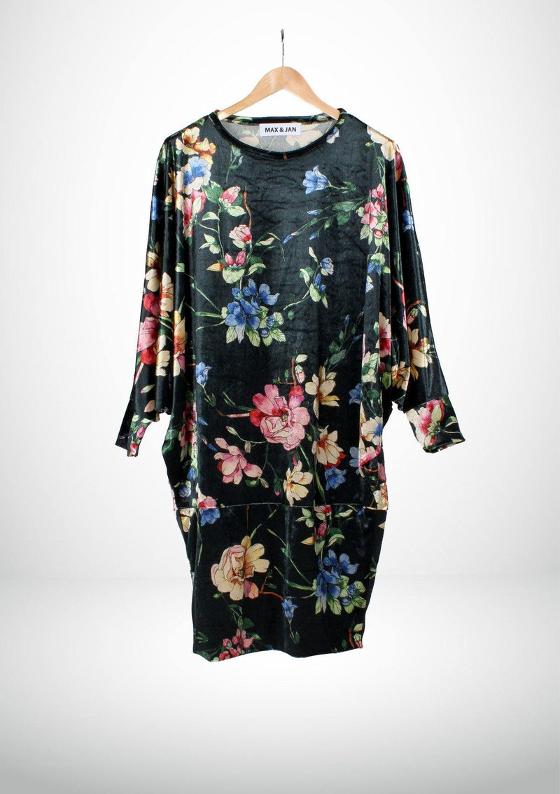 Oversized Floral Dress - Africancollection