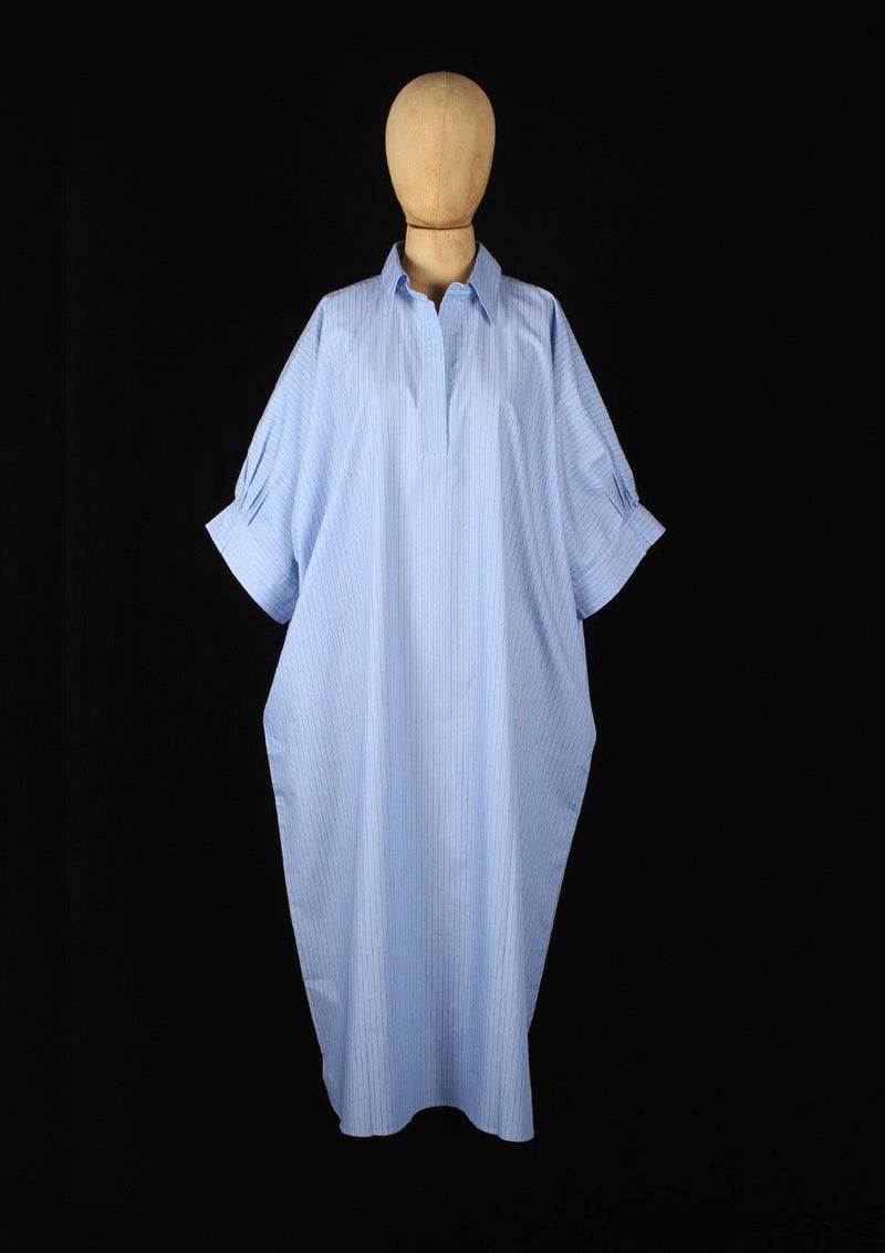 Oversized Gandoura Dress with Angel Wings - Africancollection