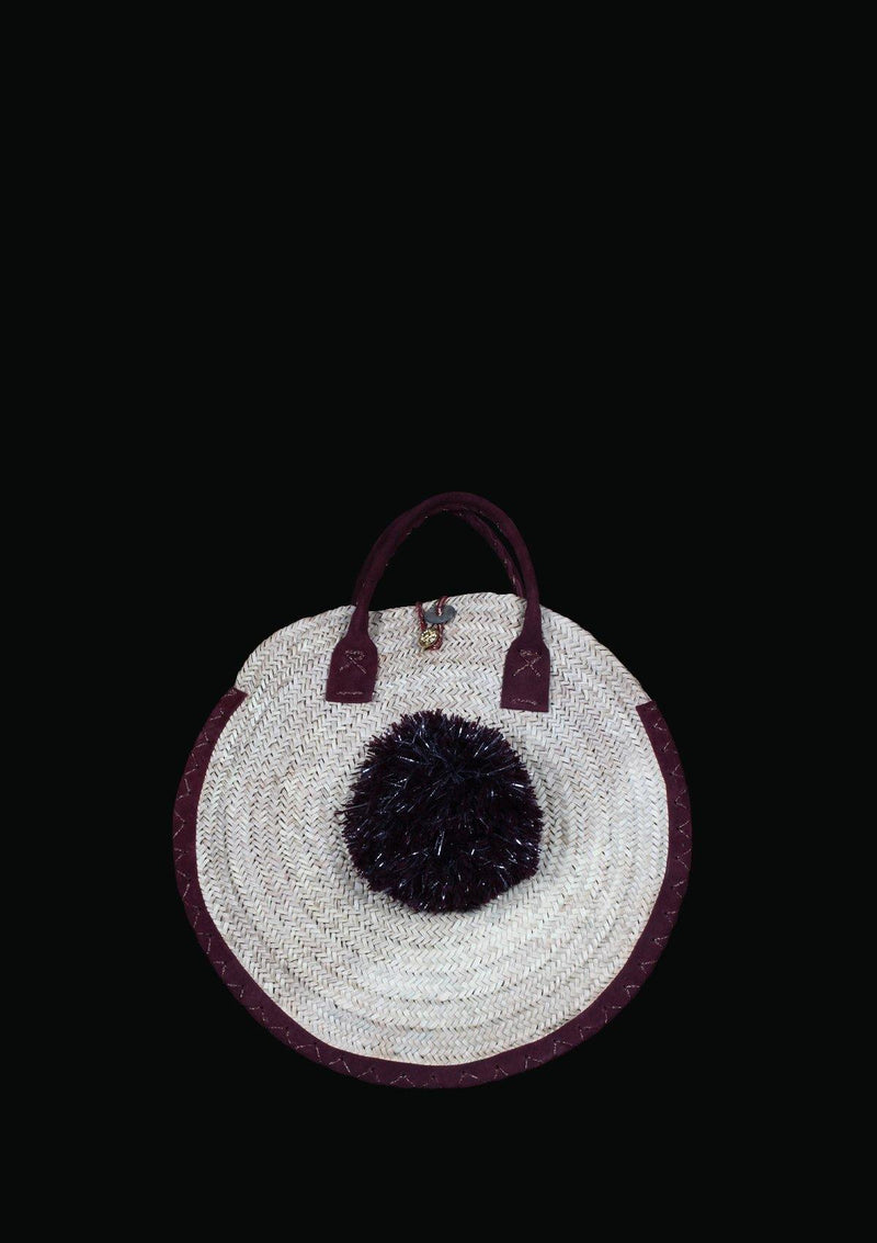 Circular Straw Bag - Africancollection