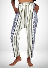 PDG Keffieh Sarouel Pants - African Collection