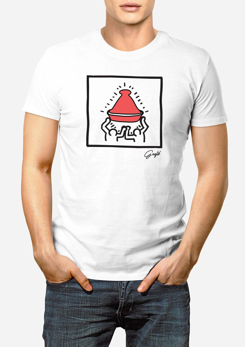 "T-shirt ""Tajine we Conquered"" For men - African Collection"