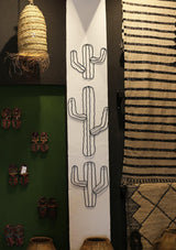 Hangable Metal Cactus - Africancollection
