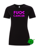 F*CK CANCER Premium Ladies T-Shirt