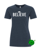 BELIEVE in UFO's Ladies Premium T-Shirt