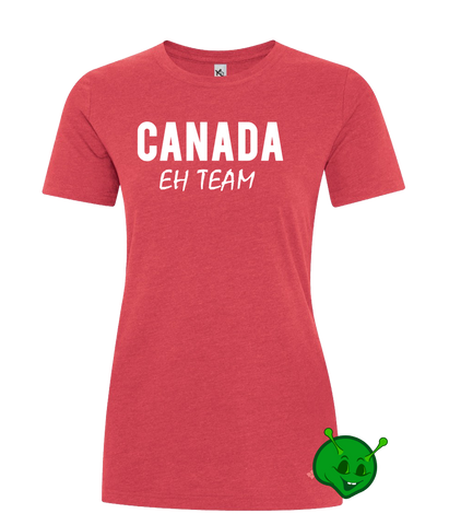 Canada Eh Team Ladies Premium T-Shirt