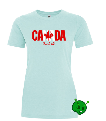 Canada Cool EH Ladies Premium T-Shirt
