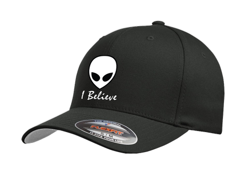 I Believe In Aliens Premium embroidered Cap