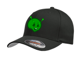 Laughing Alien Premium embroidered hat.