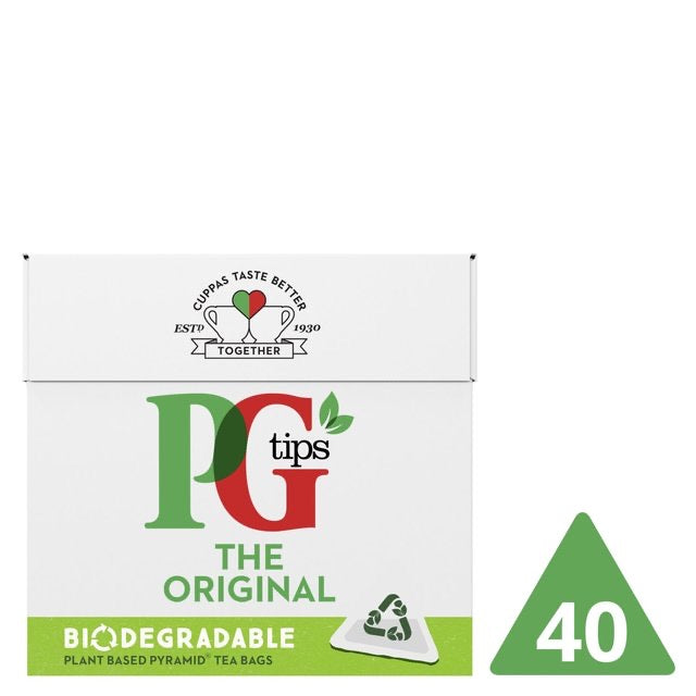Pg Tips 40S Pyramid Teabags 116G