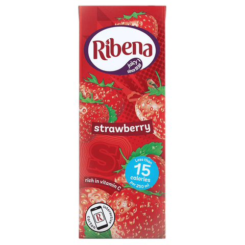 Ribena Strawberry Cartons 250ml