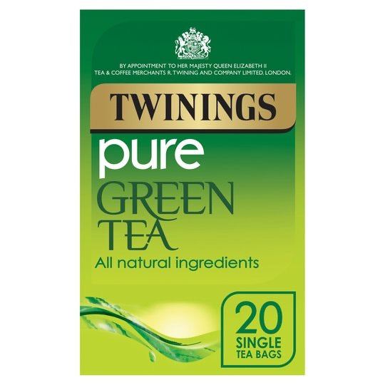 Twinings Pure Green Tea bags 20'S 50G