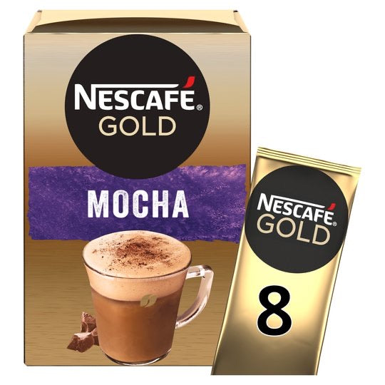 Nescafe Gold Mocha Coffee 8 Sachets 176g