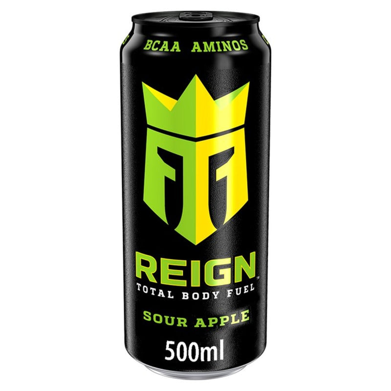 Reign Total Body Fuel Sour Apple Energy Drink 500Ml
