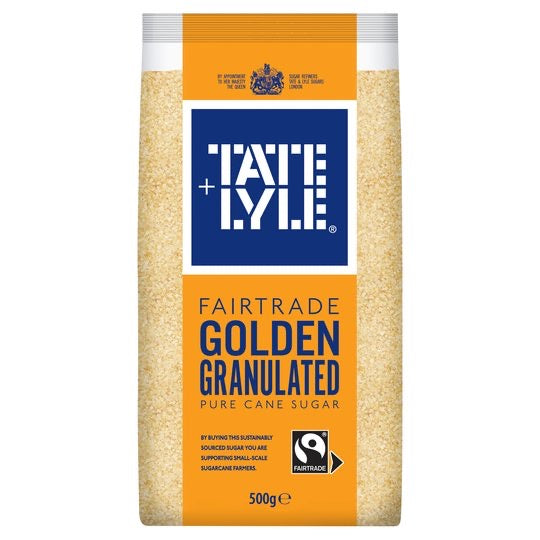 Tate & Lyle Golden Granulated Fairtrade Sugar 500G