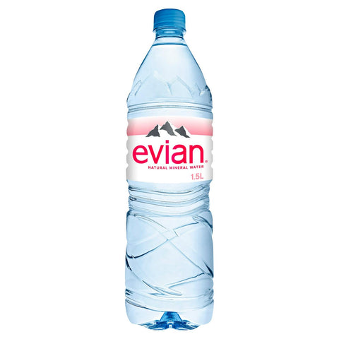 Evian Natural Mineral Water 1.5 Litre