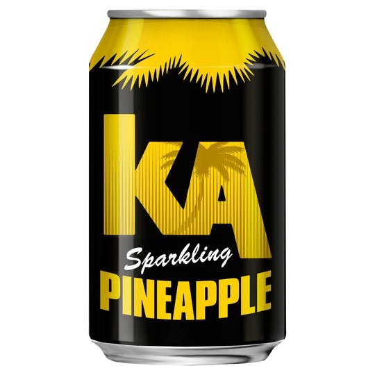 K.A. Sparkling Pineapple Can 330Ml