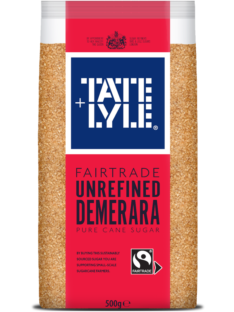 Tate & Lyle Fairtrade Demerara Sugar Fair 500G