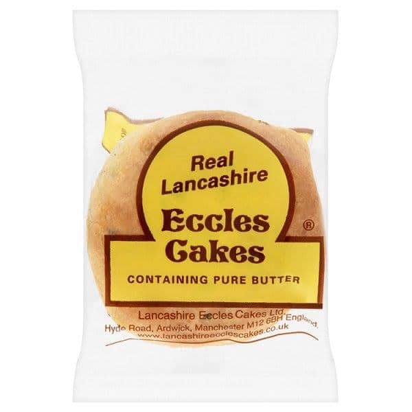 Real Lancashire Eccles Cakes 2 Pack