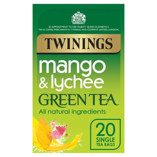 Twinings Green Mango And Lychee 20'S 40G