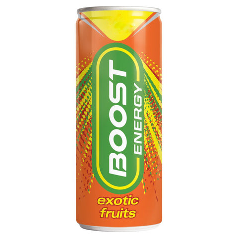 Boost Energy Exotic Fruits, 250ml