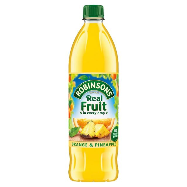 Robinsons Orange & Pineapple No Added Sugar 1 Litre