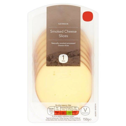 Smoked Cheese Slices 150G