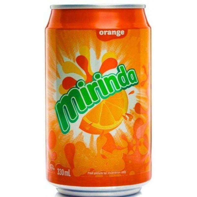 Mirinda Orange Cans 330Ml