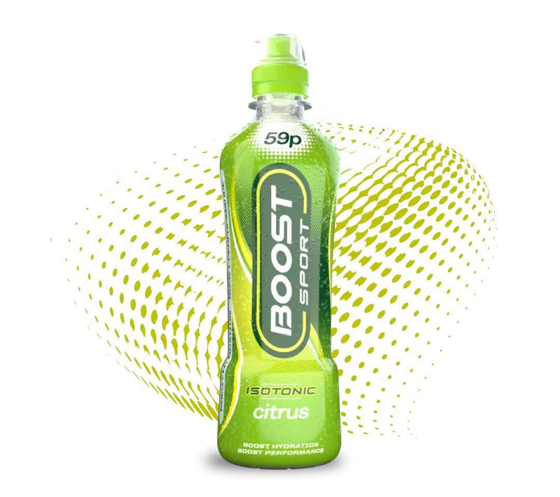 Boost Sport Isotonic Citrus, 500ml