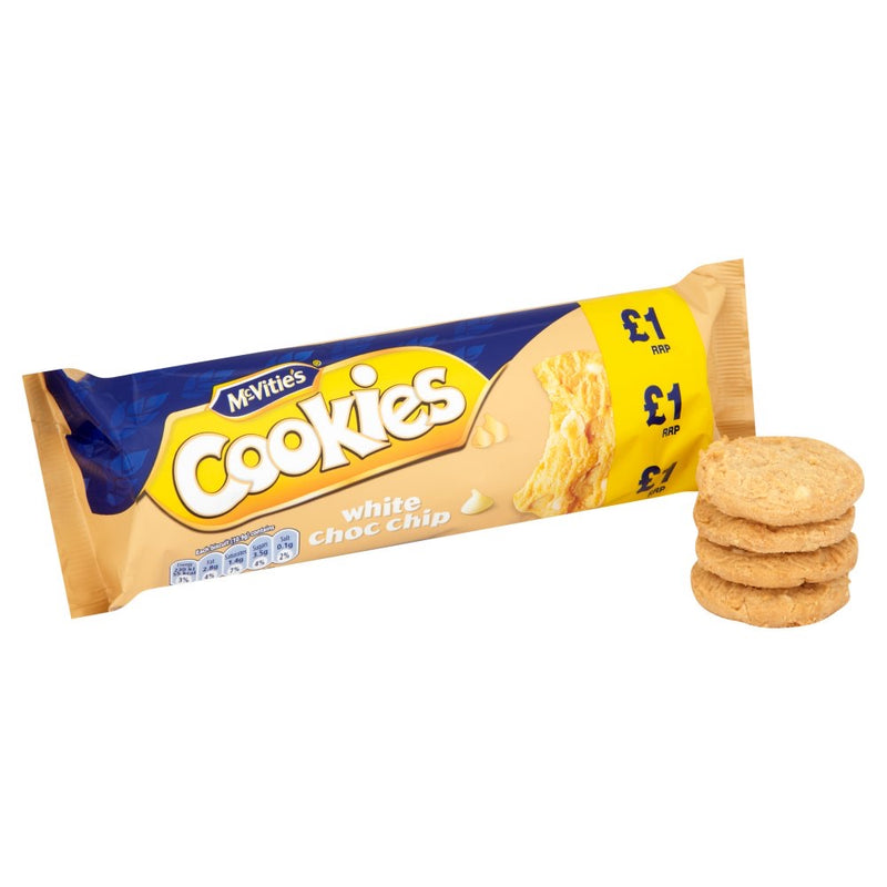 McVitie's White Choc Chip Cookies 150g