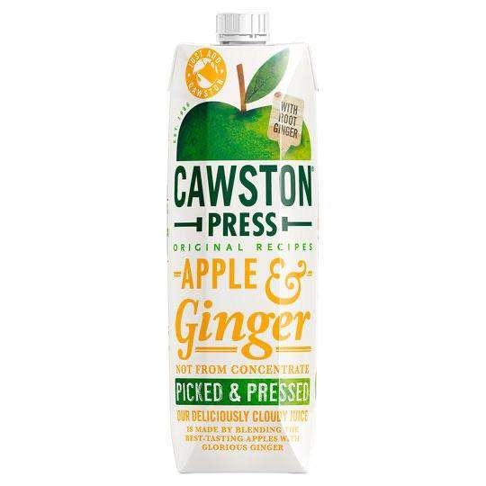 Cawston Press Apple & Ginger Juice 1 Litre