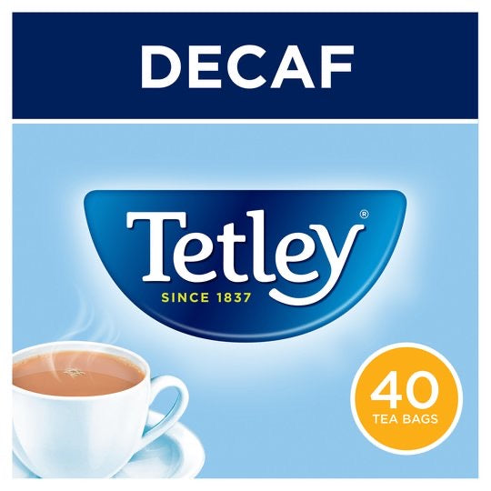 Tetley Decaffeinated Tea Bags 40'S