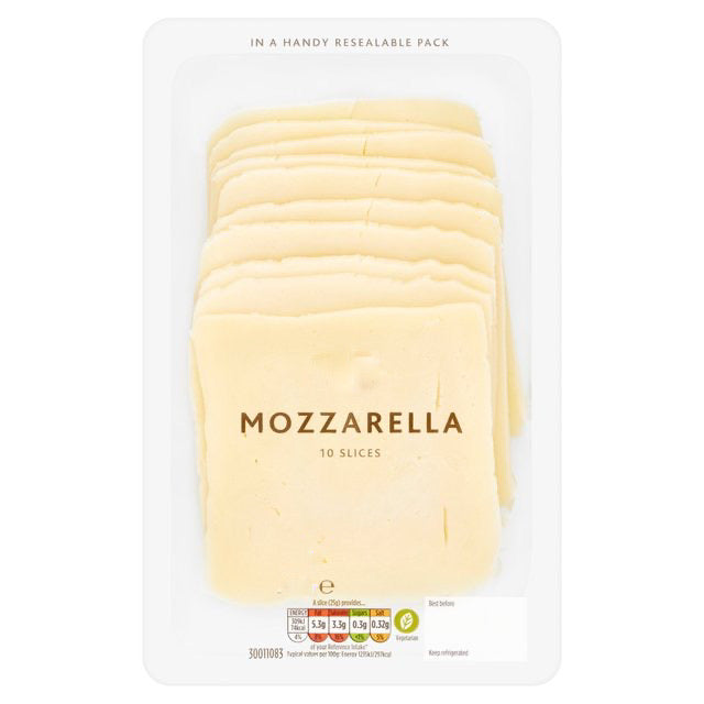 Mozzarella Slices 150g