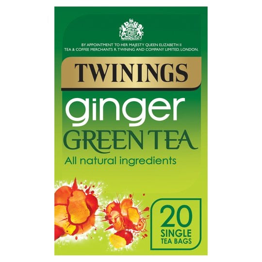 Twinings Ginger Green Tea 20'S 40G