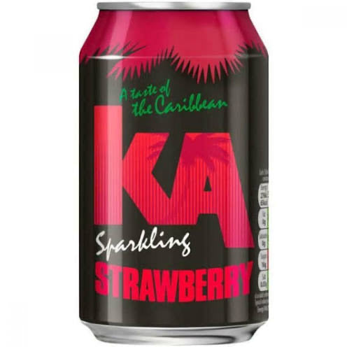 K.A. Sparkling Strawberry Can 330Ml