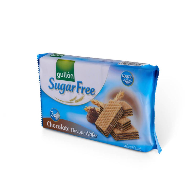 Chocolate wafer Sugar Free 180g