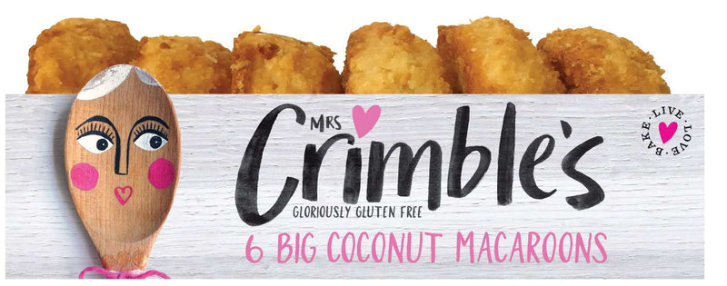 Mrs Crimble's Coconut Macaroons 6 Pack