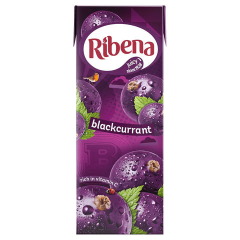 Ribena Blackcurrant Cartons 250ml