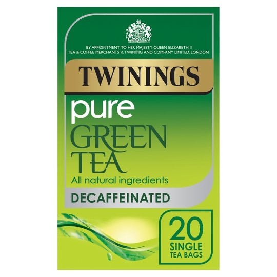 Twinings Green Pure Decaffeinated 20'S 40G